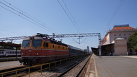 Loco-hauled at Zagreb Railway Station