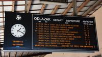 Zagreb departures
