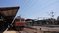 Loco-hauled at Zagreb