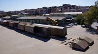Freight yard next to Haydarpaşa Station