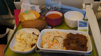 Lunch on Renfe First Class