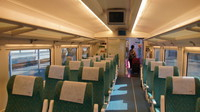 First class cabin on Renfe