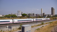 High-speed near Martorell