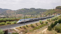 High-speed passing Castellbisbal
