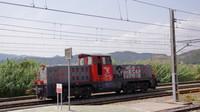 Shunter at Castellbisbal