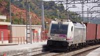 Freight passing Castellbisbal