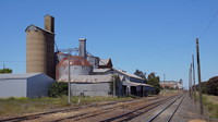 Grain infrastructure at Murtoa