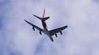 QANTAS A380 over McIntyre