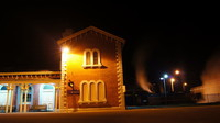 R761 at Echuca Station at 4:30am