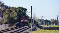 4717 heading to the Port at Marrickville