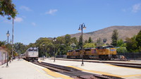 Amtrak and UP at San Luis Obispo