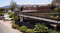 Pedestrian Bridge at San Luis Obispo