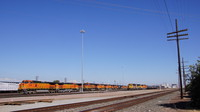 BNSF Locomotive at Fresno