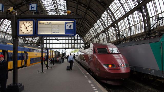Thalys at Amsterdam