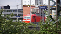 DB120 on passenger service at Bochum Hbf