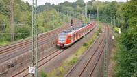 EMU approaching Bochum
