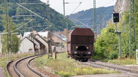 Freight passing St Goarshausen