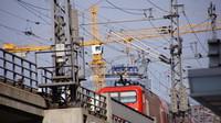 DB departing Friedrichstrasse Station