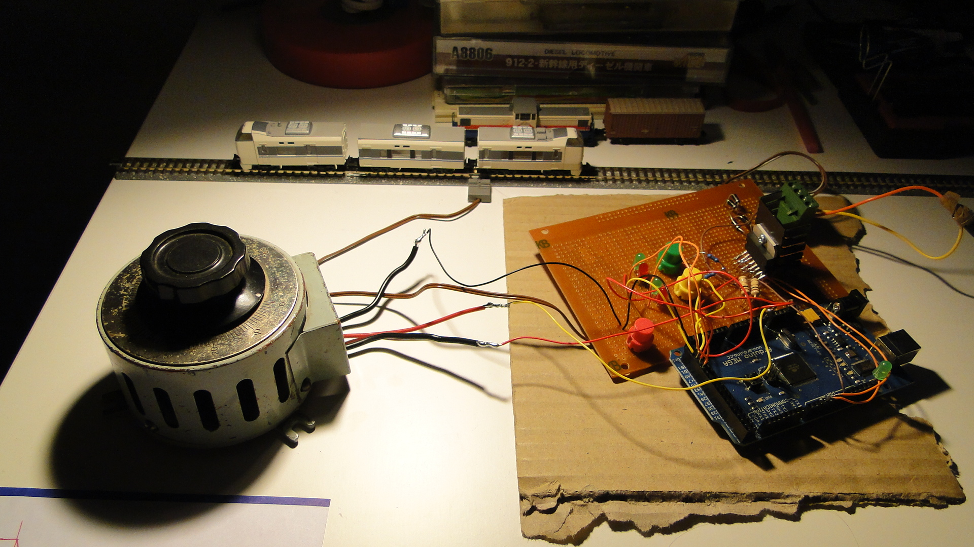 Controlling your trains with an Arduino « modelrail otenko