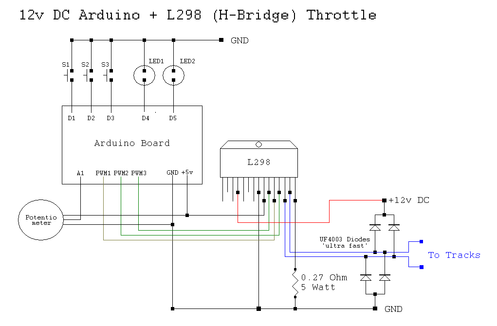 wiring diagram for a arduino uno on ho dcc train   48