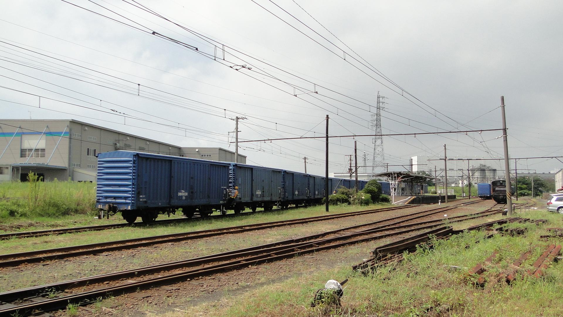 Japanese Freight Car Manual Brakes - Japan Rail: Pictures ...