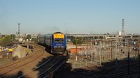 XPT arriving in Melbourne